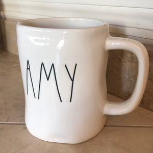 Rae Dunn Amy Name Mug